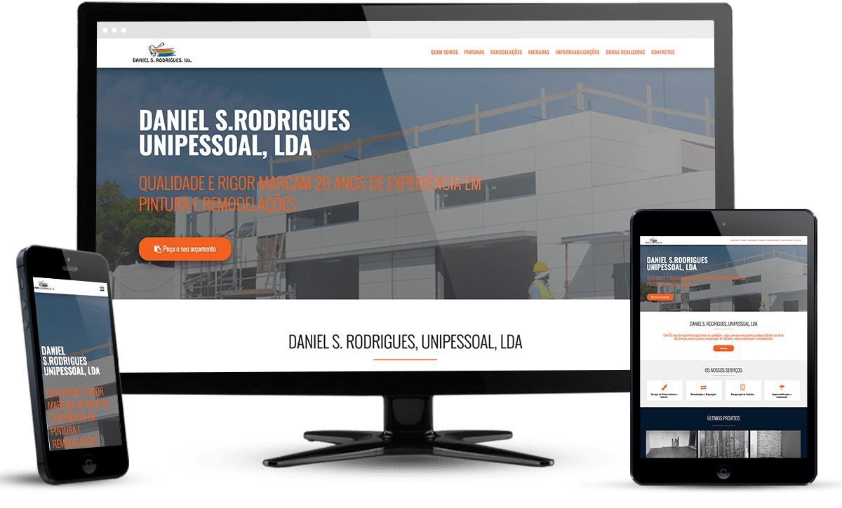 website Daniel S. Rodrigues