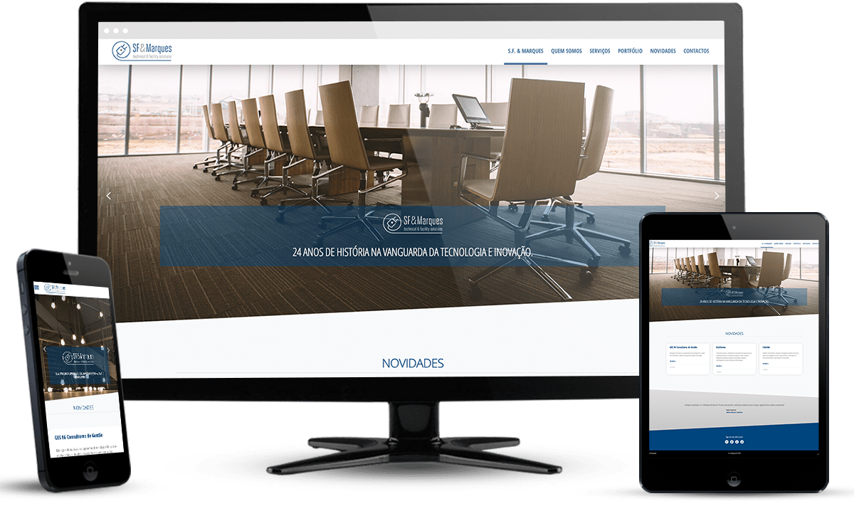 website S.F. & Marques